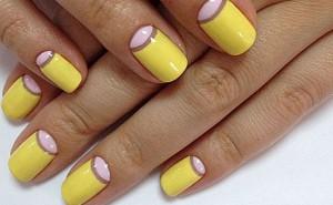 Гель лак дизайн на свои ногти 8