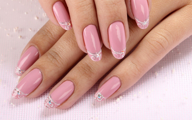 фото свадебных ногтей