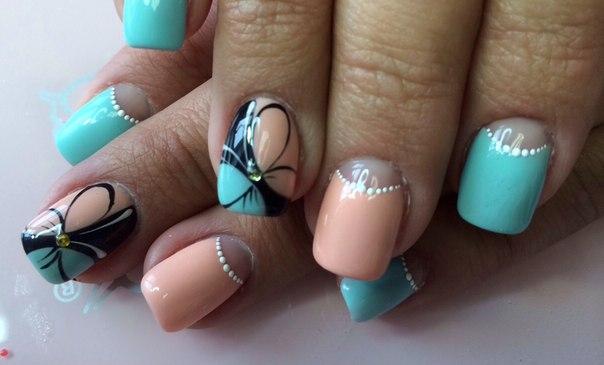 нежные свадебные ногти фото