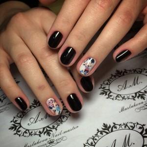 Красивый маникюр шеллак на очень короткие ногти: идеи, дизайн, рисунки, фото