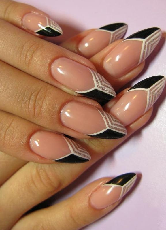 Лучшие овальных ногтей