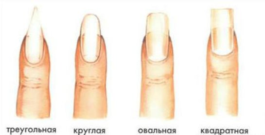 Какую форму ногтей выбрать