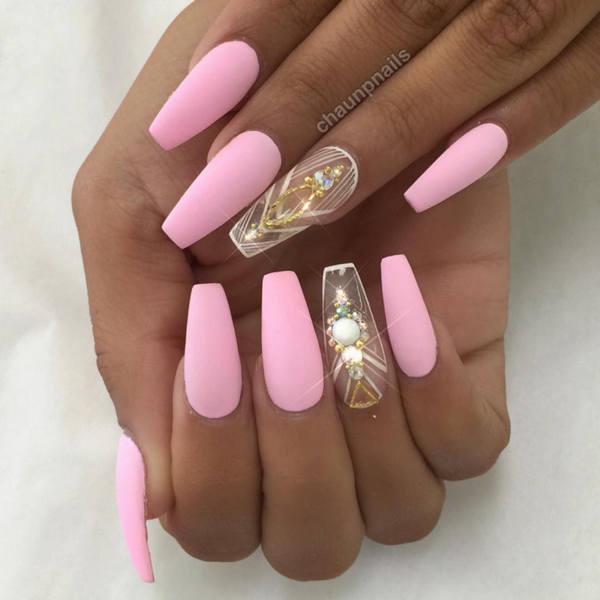 Best Nail Colours Summer 2016: Форма ногтей балерина: фото, как сделать?