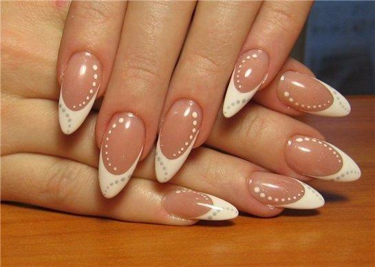 Как сделать миндалевидную форму ногтей (миндаль)