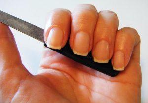 Ногти белым гелем дизайн фото