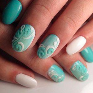 Объемный дизайн ногтей с фото и видео: объемные ногти 29