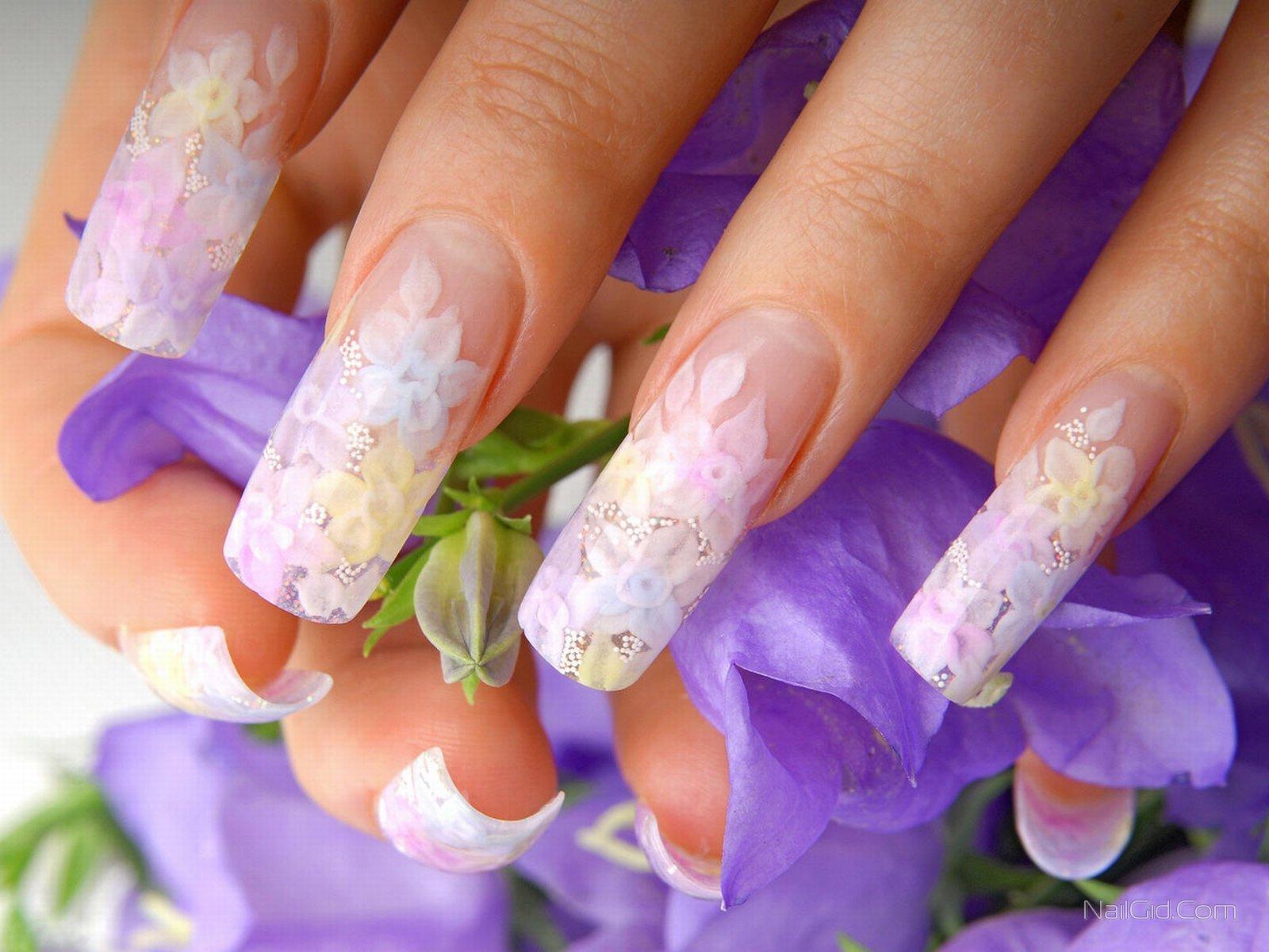 Наращивание ногтей все виды фото и