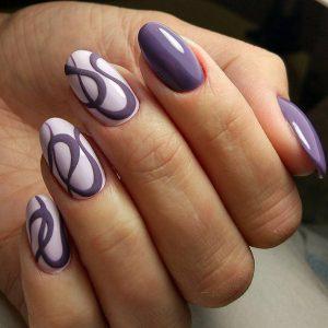 Ногти овальной формы фото дизайн