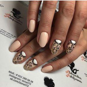 Дизайн ногтей 2017 фото новинки на овальную форму