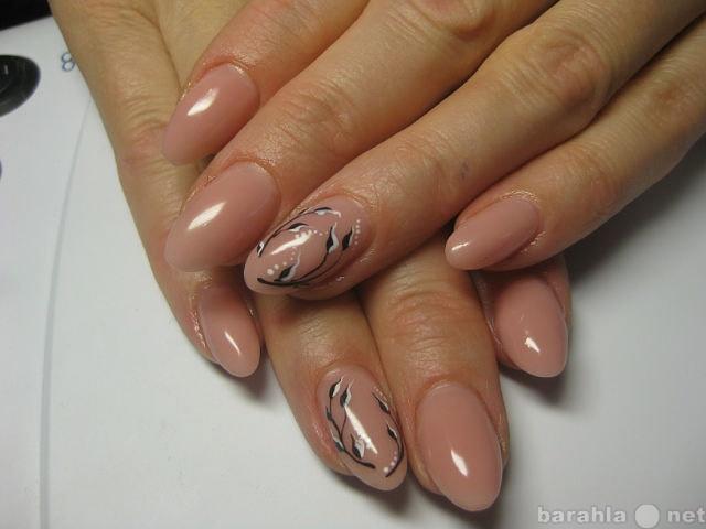 Ногти дизайн натуральный цвет
