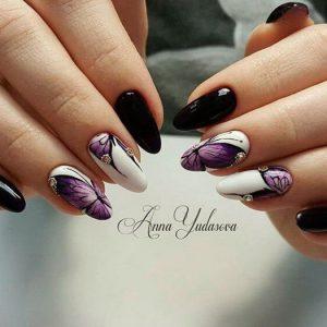 Дизайн ногтей для миндальной формы