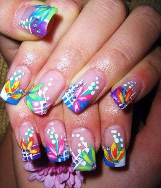 Дизайн квадратных ногтей: фото лучших вариантов