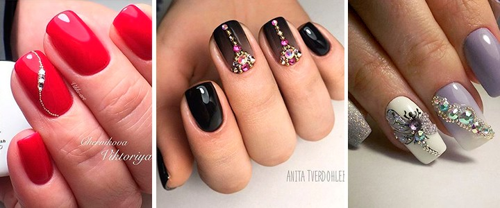 Маникюр с бульонками: фото дизайна на ногтях, лучшие идеи