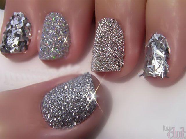 Дизайн ногтей с блестками: идеи маникюра на фото